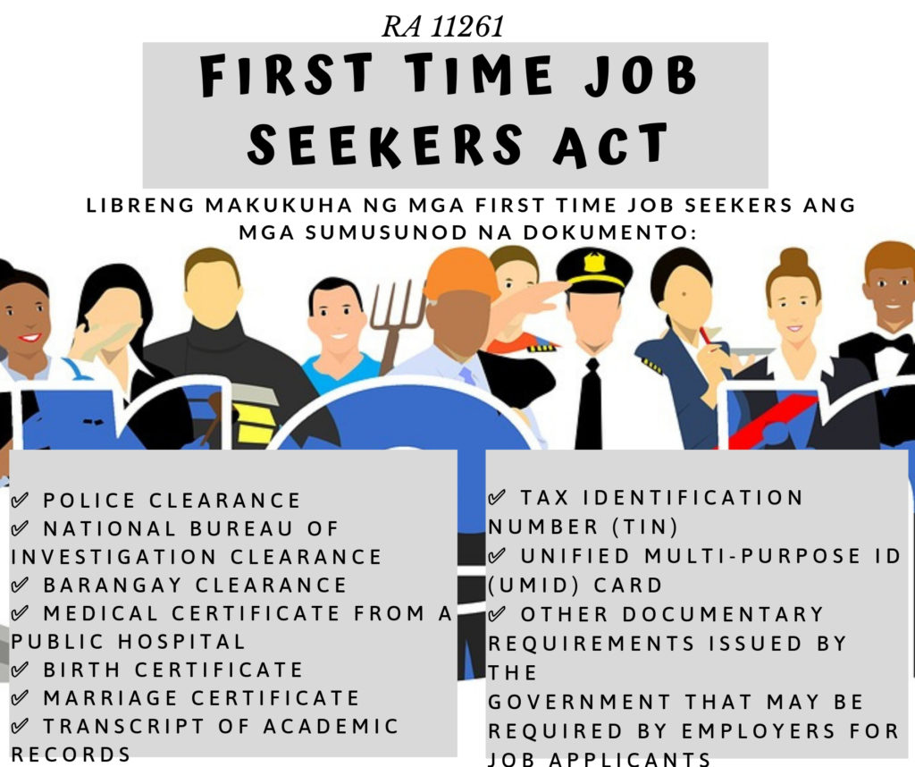 First Time Job Seekers Act