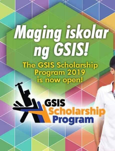 GSIS Scholarship Program 2019