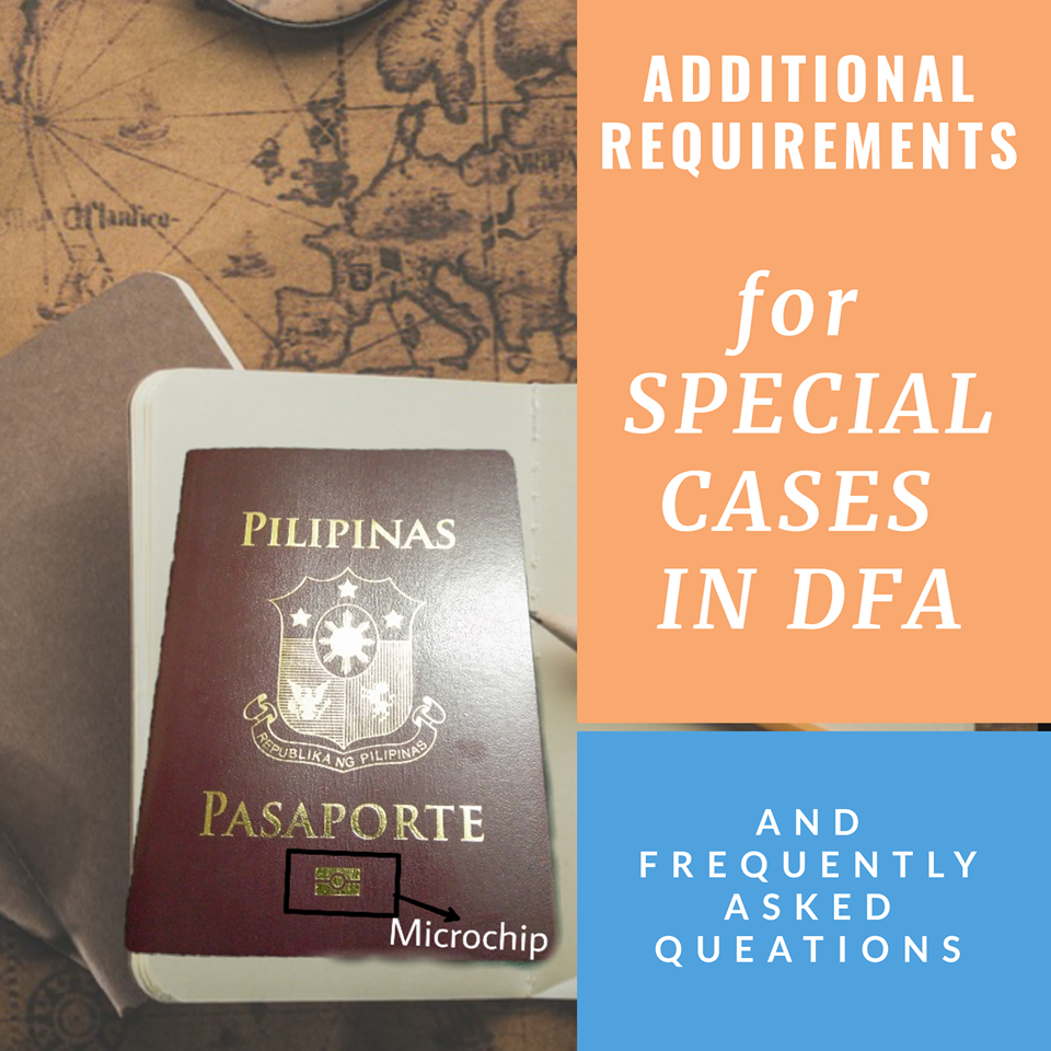 Requirements for passport application