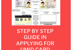 Step by Step Guide in Applying For UMID card