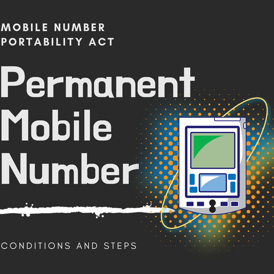 Mobile Number Portability Act