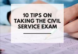 Civil Service Examination Tips
