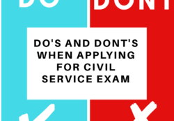 civil-service-exam-dos-and-donts