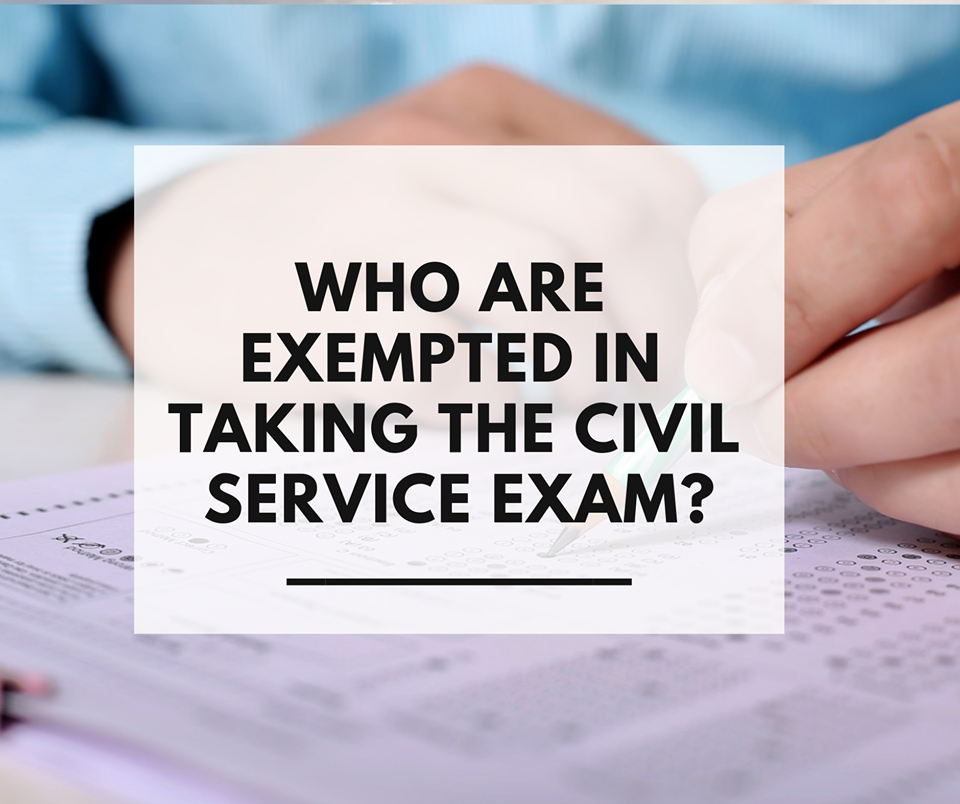 Who are Exempted in CSE?