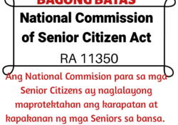 National Comission for Senior Citizen