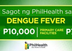 Philhealth benefits for dengue case