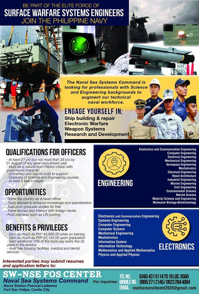 Philippine Navy recruitment