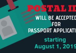 Postal ID will be accepted for Passport applications