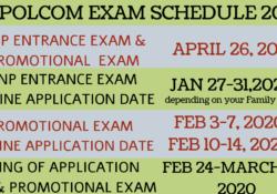 napolcom exam schedule 2020
