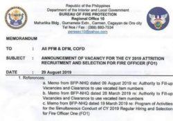 BFP Region 10 hiring