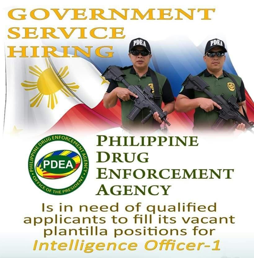 pdea hiring