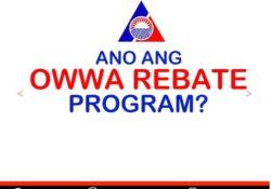 OWWA rebate for OFW