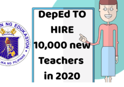 deped hiring 10,000 new teachers