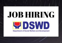 dswd job updated