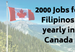 jobs for filipinos in Canada