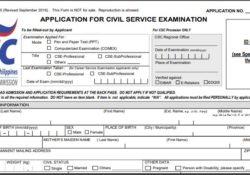 CSE form