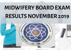 Midwifery Board Exams results