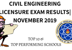 civil engr board exam results