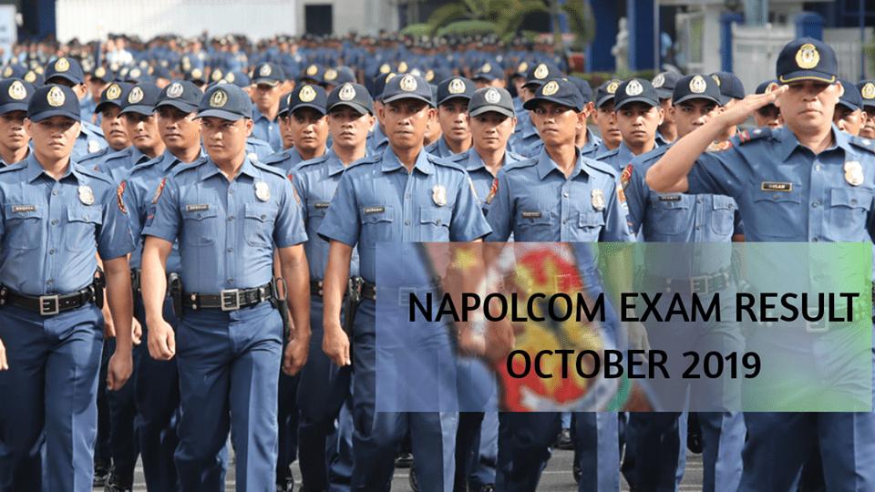 Napolcom exam result 2019