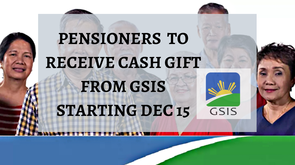 Gsis Survivorship Christmas Bonus 2020 GSIS to release 3B in Christmas Cash Gift to pensioners   News to gov