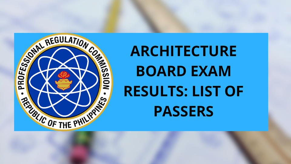 Architecture board exam result