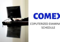 comex schedule 2020