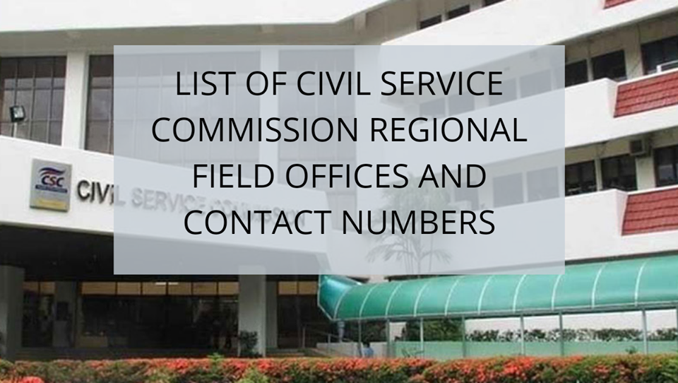 CSC Regional Field Offices