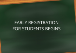 Early Registration for students 2020