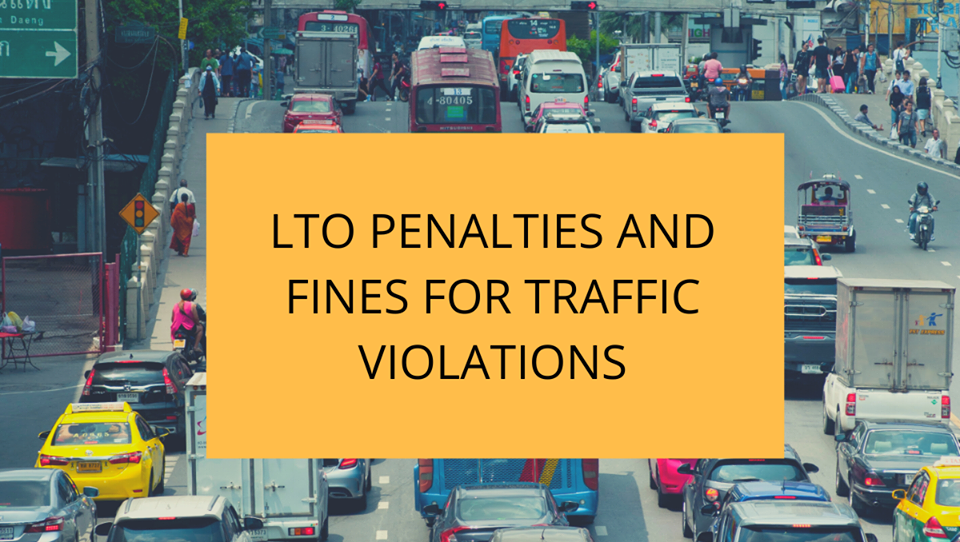 LTO finesand Penalties