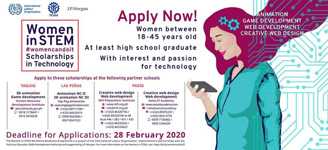 ilo scholarship program for women