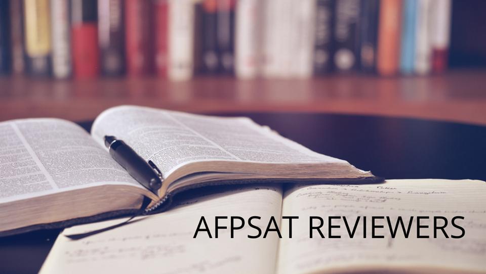 AFPSAT reviewer