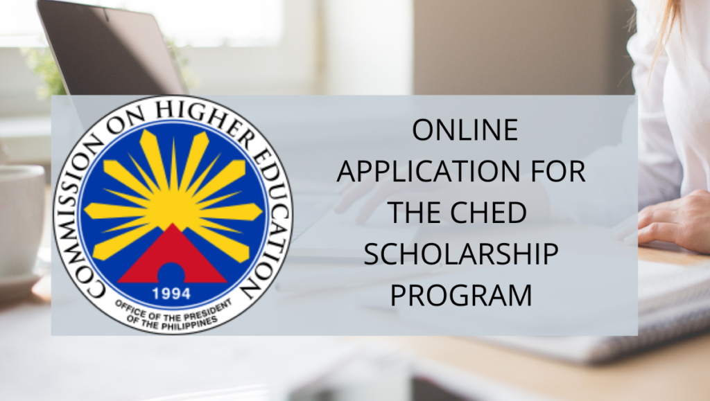 ched online application for scholarship