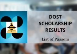 dost scholarship passers
