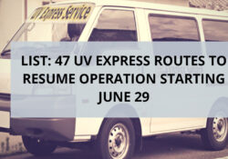 47 uv express routes