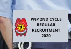 pnp recruitment 2020