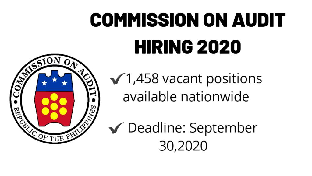 COA hiring 2020