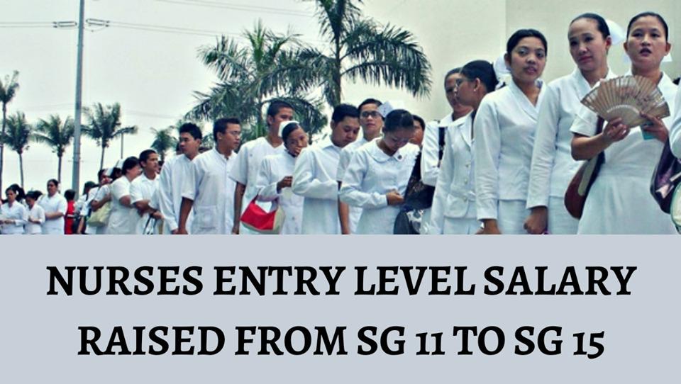 nurses salary grade 2020