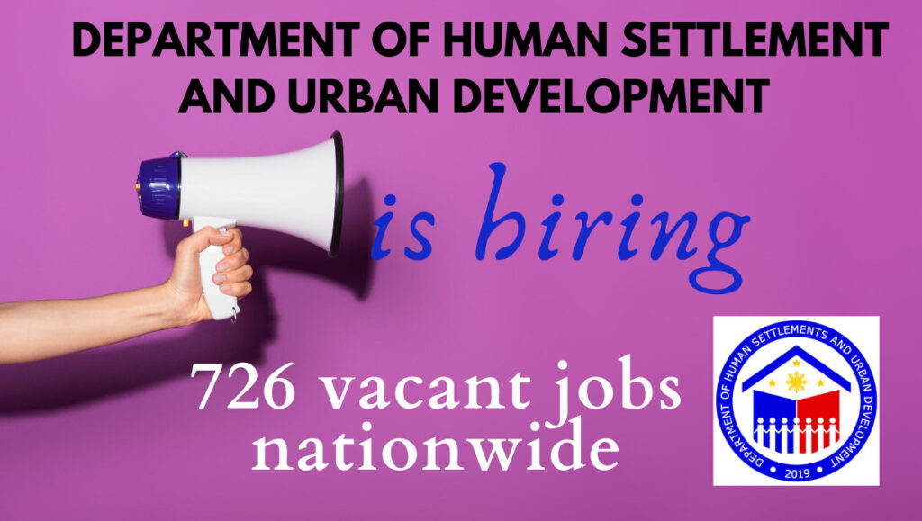 dhsud hiring