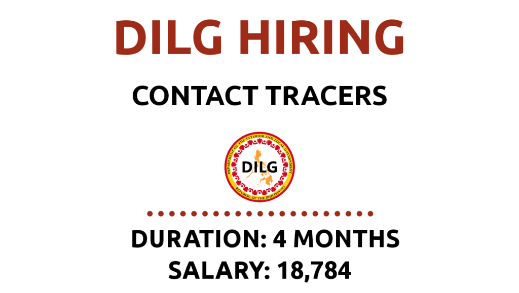 contact tracers hiring philippines
