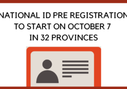 national id pre registration
