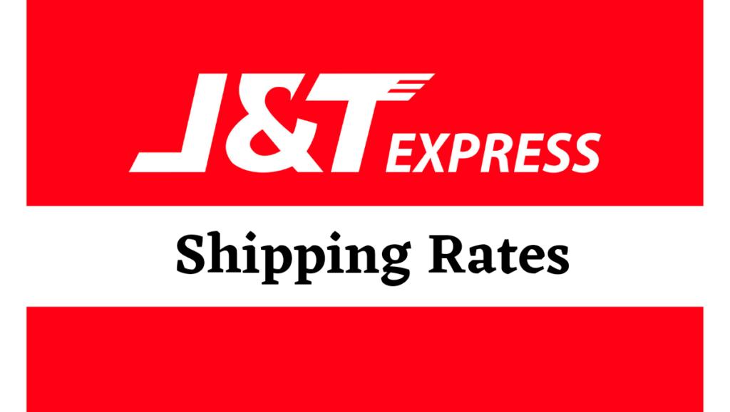 j&t express rates