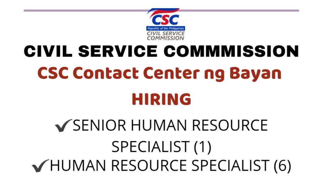 csc hiring