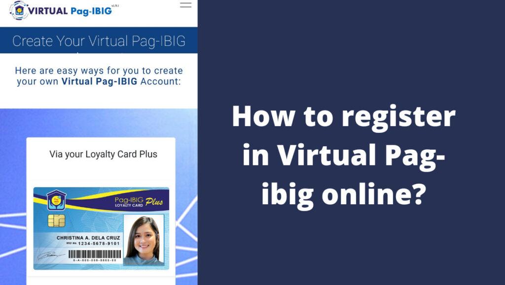 pag ibig online registration