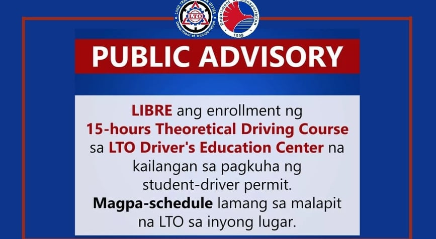 LTO 15 hour Theoretical Driving Course