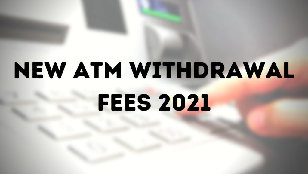 ATM Withdrawal fee Philippines 2021