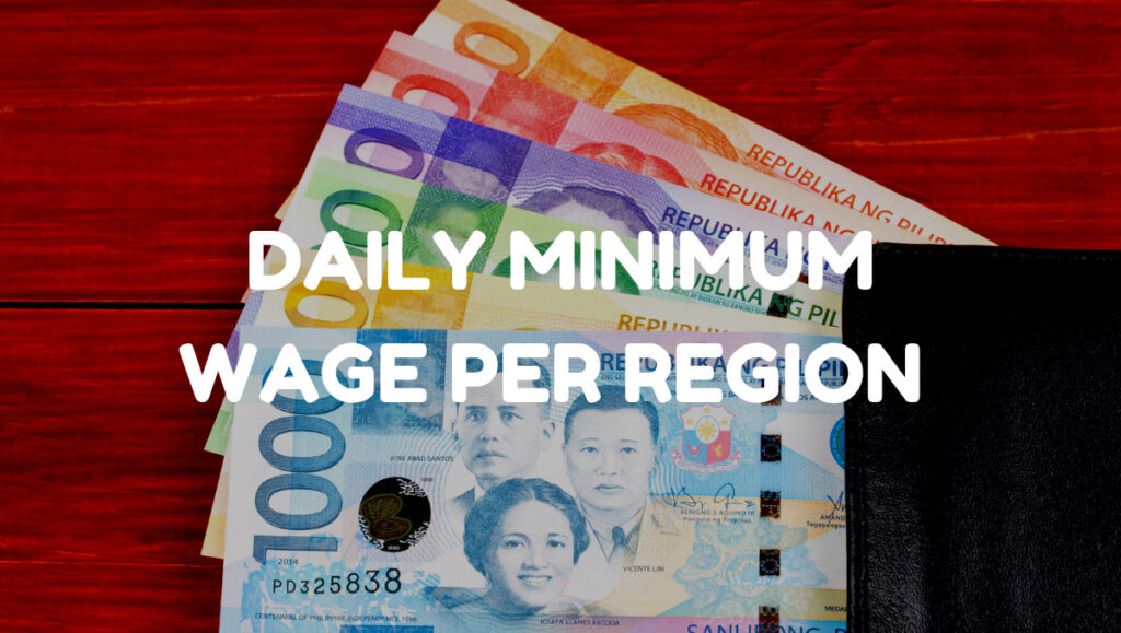 minimum daily wage philippines 2021