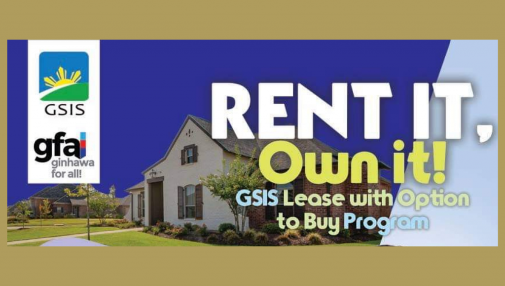 gsis lease with option to buy program