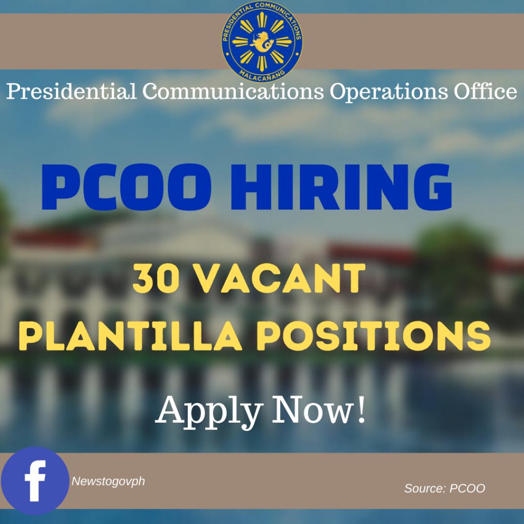 pcoo hiring