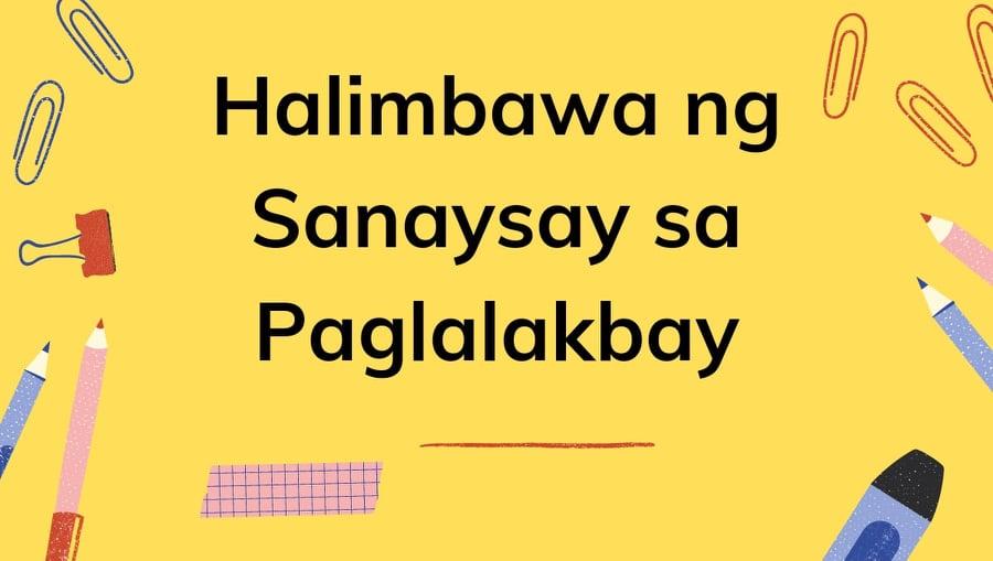 Halimbawa ng Sanaysay sa paglalakbay